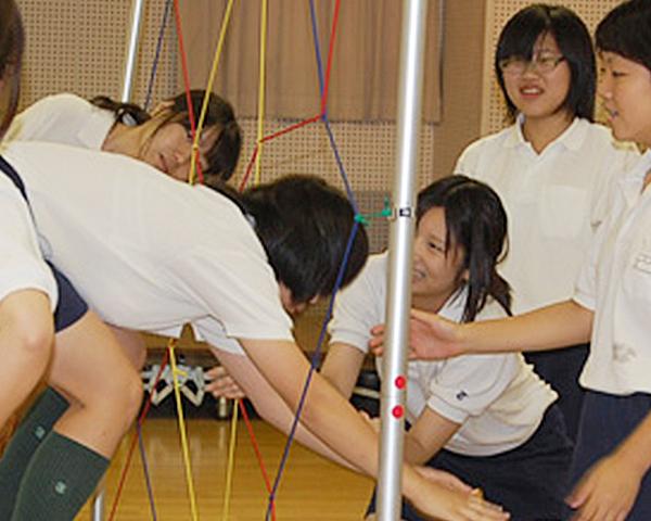 トキワ松学園中高のプロジェクトアドベンチャー