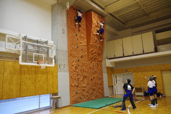 ハイエレメント-壁登り
