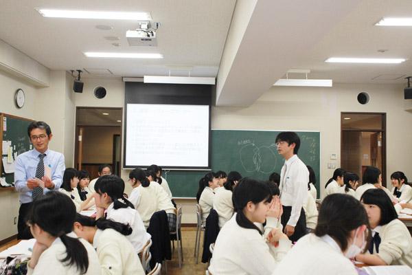 人間学の授業風景2