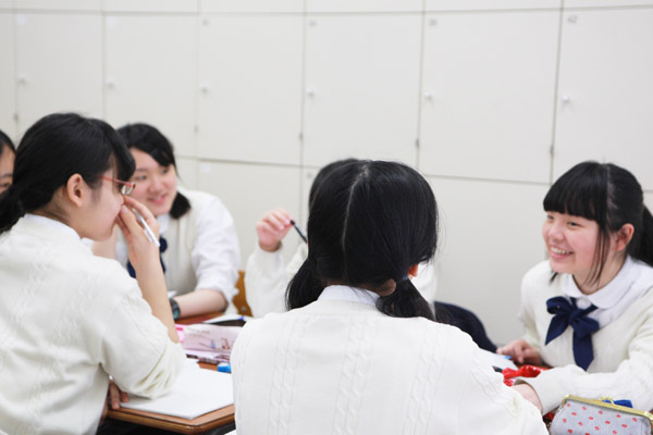 人間学の授業風景4