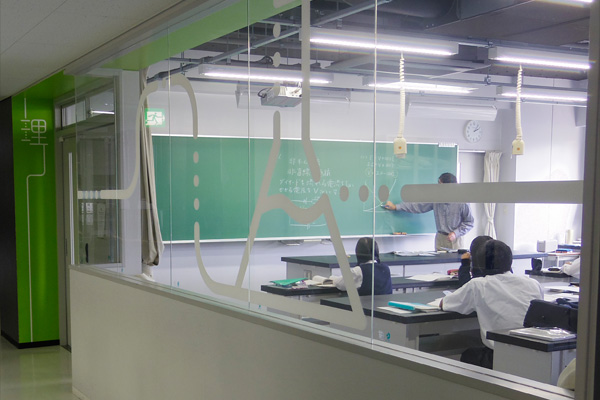 理科の教室
