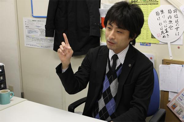 説く石井先生