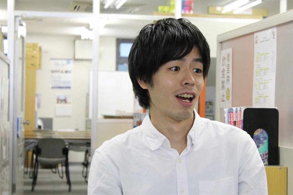 驚く松村先生