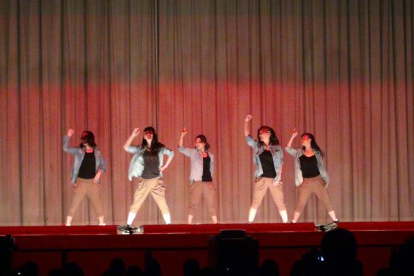 ダンス部の発表